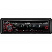 Radio MP3 Player Kenwood KDC 351RN 4 x 50W MP3/WMA cu fata detasabila, Cod Renault 7711430384