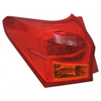Stop spate lampa Toyota Auris (E18), 01.13-Hatchback, spate, omologare ECE, fara suport bec, exterior, 8156102740, Stanga