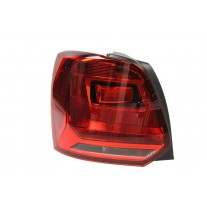 Stop spate lampa Vw Polo (6r), 06.14-, spate, omologare ECE, cu suport bec, tip bec H21W+W16W, 6C0945095F, Stanga