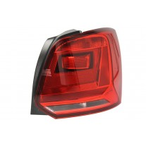 Stop spate lampa Vw Polo (6r), 06.14-, spate, omologare ECE, cu suport bec, tip bec H21W+W16W, 6C0945096F, Dreapta