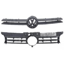 Grila radiator Volkswagen Golf 4 (1J) (Hb + Estate), 08.1997-09.2003, grunduit, 954105-0