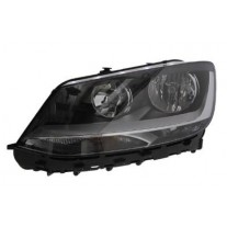Far Vw Sharan (7n), 04.2010-, Electric, tip bec H7+H7, omologare ECE, cu motoras, 7N1491005; 7N1941005; 7N1941005B, Stanga, marca AL (Automotive Lighting)