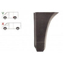 Segment reparatie aripa spate Vw Transporter T4 1990-2003 ,Scurt Partea Stanga, Spate, lungime 270 mm, inaltime 395 mm,
