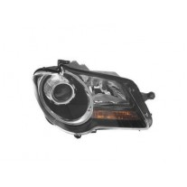Far Vw Touran (1t2), 01.2007-07.2010, Electric, tip bec H7+H7, omologare ECE, cu motor, negru, 1T1941006C; 1T1941753A, Dreapta, marca AL (Automotive Lighting)
