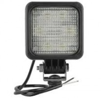 Lampa lucru Universal, 12/24V 100x100x76mm, tip bec LED,2500 lm, lentile cu model optic, patrata,,