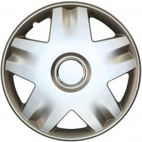 Set capace roti 14 inch tip Renault, culoare Silver 14-213