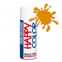 Spray vopsea Portocaliu HappyColor Acrilic, 400ml