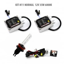 Kit hid xenon H11 normal 12v 35w 6000k