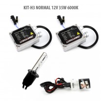 Kit HID xenon Carguard bec H3 Normal 12V 35W 6000K