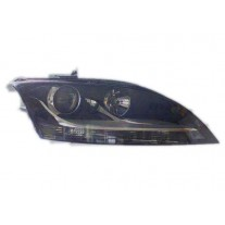 Far Audi TT (8J), 05.2006-09.2014 AL Automotive lighting fata dreapta 135110-U tip bec H7+H7 reflector silver cu motoras