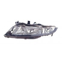 Far Honda Civic (Hatchback) 10.2005-09.2011 AL Automotive lighting partea Stanga cu bec H7+H7