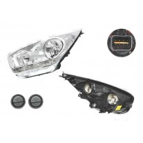Far Kia Venga 01.2010- AL Automotive lighting partea Stanga, tip bec H1+H7 fara motoras