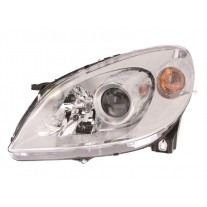 Far Mercedes Clasa B (W245) 03.2008-06.2011 AL Automotive lighting partea Stanga, tip bec H7+H7, reglaj pneumatic