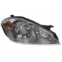 Far Mercedes Clasa A (W169) 05.2008-06.2012 AL Automotive lighting partea Dreapta, tip bec H7+H7, reglaj pneumatic