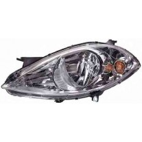 Far Mercedes Clasa A (W169) 09.2004-05.2008 AL Automotive lighting partea Stanga, tip bec H7+H7 , reglaj pneumatic, fara lupa