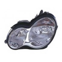 Far Mercedes Clasa C (W203) 01.2003-03.2007 AL Automotive lighting partea Stanga, tip bec H7+H7, reglaj pneumatic
