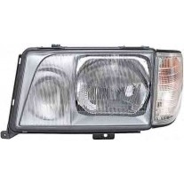 Far Mercedes Clasa E W124 (Sedan/Coupe/Cabrio/Combi) 1993-06.1996 AL Automotive lighting partea Dreapta, tip bec H3+H4, reglare pneumatica