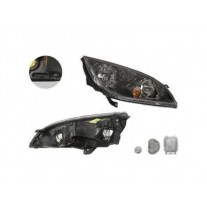 Far Mitsubishi Colt 05.2004-10.2008 AL Automotive lighting partea Dreapta, tip bec H7+H7 cu motoras, cu rama gri