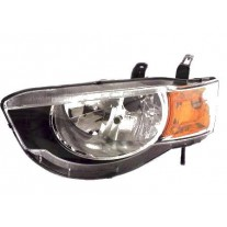 Far Mitsubishi Colt (Z30) 10.2008- AL Automotive lighting partea Dreapta H4 cu motoras