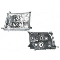 Far Toyota Land Cruiser (FJ100) 01.1998-04.2005 BestAutoVest partea Dreapta HB3+HB4 manual