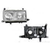 Far Toyota Land Cruiser FJ80/FJ82 01.1993-05.1996 DEPO partea Stanga, tip bec H1+H4 manual