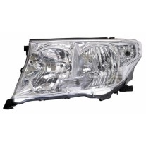 Far Toyota Land Cruiser V8 (FJ200) 11.2007-12.2011 DEPO partea Stanga, tip bec H11+HB3 manual