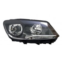 Far VW Caddy 3/LIFE (2K) 06.2010- Touran 07.2010- TYC partea Dreapta daytime running light, tip bec H15+H7