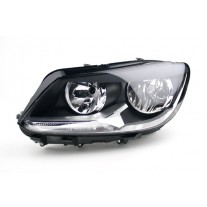 Far VW Caddy 3/LIFE (2K) 06.2010- Touran 07.2010 - TYC partea Stanga daytime running light, tip bec H15+H7