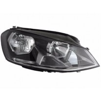Far VW Golf 7 10.2012- VALEO partea Dreapta daytime running light tip bec H7+H15
