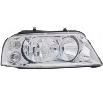 Far VW Sharan (7M) 04.2000-04.2010 Seat Alhambra (7V8/7V9) 02.2001-06.2010 AL Automotive lighting partea Dreaptatip bec H1+H7, cu rama argintie