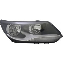 Far VW TIGUAN (5N2) 04.2011- HELLA partea Dreapta daytime running light tip bec H7+H15