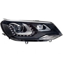 Far VW Touareg 04.2010- HELLA partea Dreapta daytime running light bixenon tip bec D3S