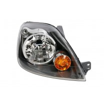 Far Ford Fiesta (JHS) 12.2007-09.2008 TYC dreapta fata, tip bec H4, reglaj electric