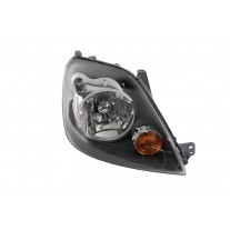 Far Ford Fiesta 10.2005-11.2007 AL Automotive lighting dreapta fata, tip bec H4, reglaj electric