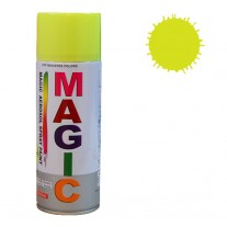 Spray vopsea MAGIC Galben Fluorescent , 400 ml.