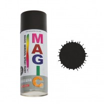 Spray vopsea MAGIC Negru lucios , 400 ml.