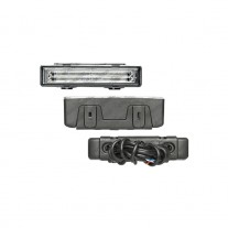 Set de 2 lumini de zi auto BestAutoVest Daytime running light universale 146x33x50mm 12V 24V la set de 2 bucati