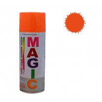 Spray vopsea MAGIC Portocaliu Fluorescent , 400 ml.