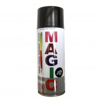 Spray vopsea MAGIC Negru metalizat 676 , 400 ml.